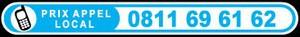 Téléphone 0811 69 61 62